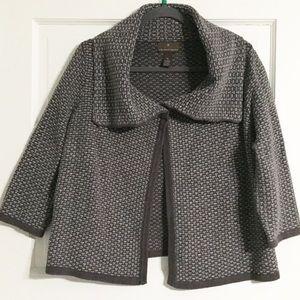 Fenn Wright Manson Grey Cropped Cardigan - XL